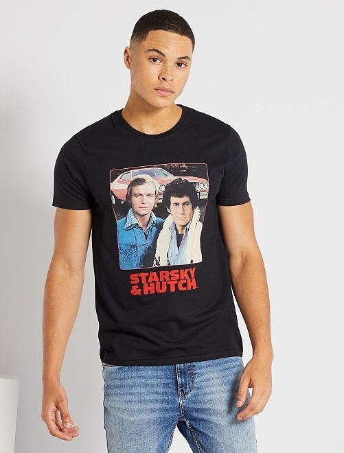T-shirt 'Starsky et Hutch'                             noir