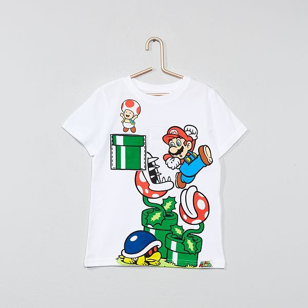 buying now on wholesale quite nice T-shirt 'Super Mario' avec poche