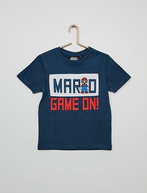T-shirt 'Super Mario'                                         bleu