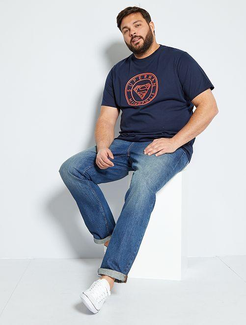 T-shirt 'Superman'                             bleu marine