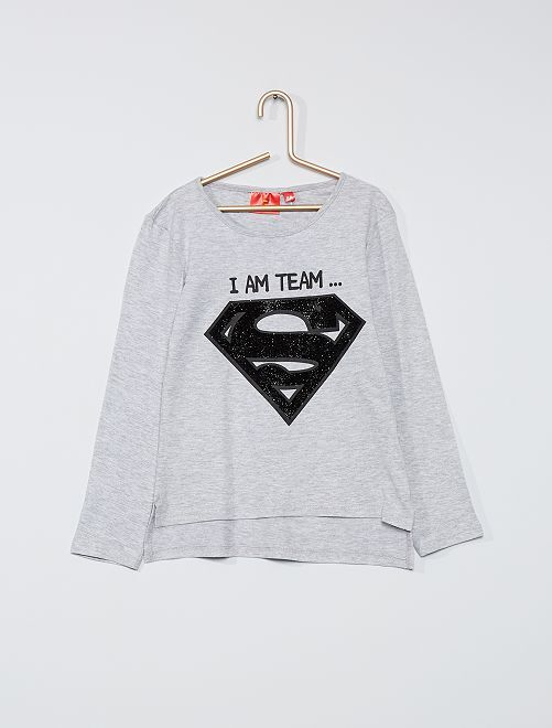 T-shirt 'Superman'                                         gris