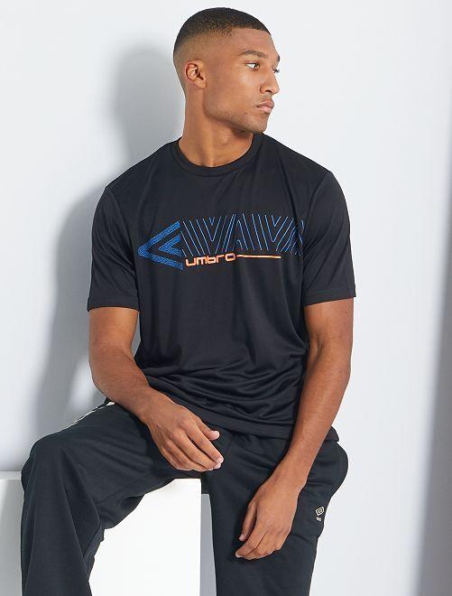T-shirt technique 'Umbro'                             noir