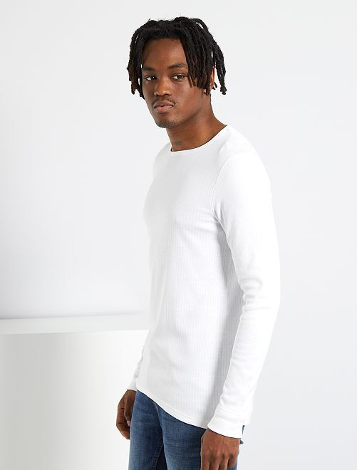 T-shirt Thermolactyl 'Damart'                                                     blanc