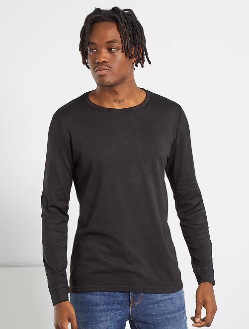 T-shirt Thermolactyl 'Damart'                                                                 noir