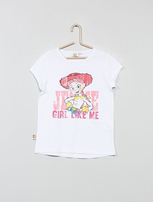 T-shirt 'Toy Story'                             blanc Fille