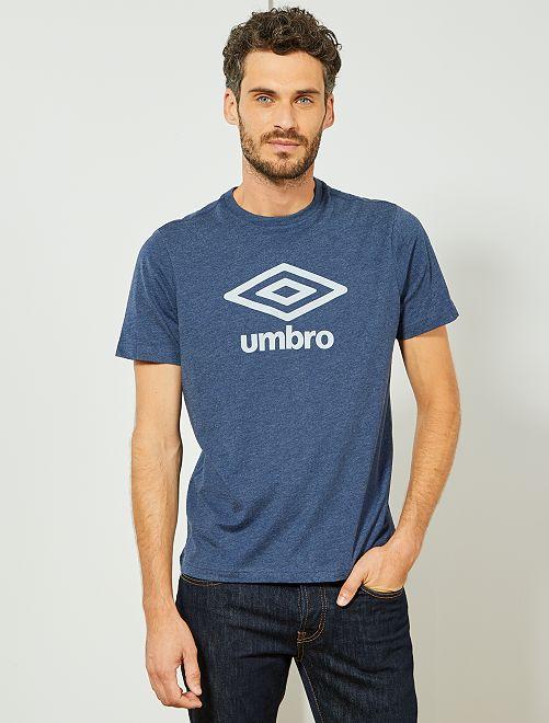 T-shirt 'Umbro'                                                                             bleu gris chiné