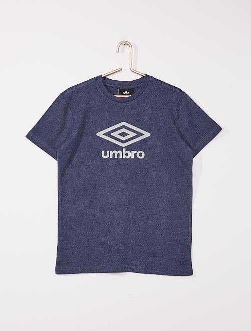 T-shirt 'Umbro' manches courtes                                                     bleu