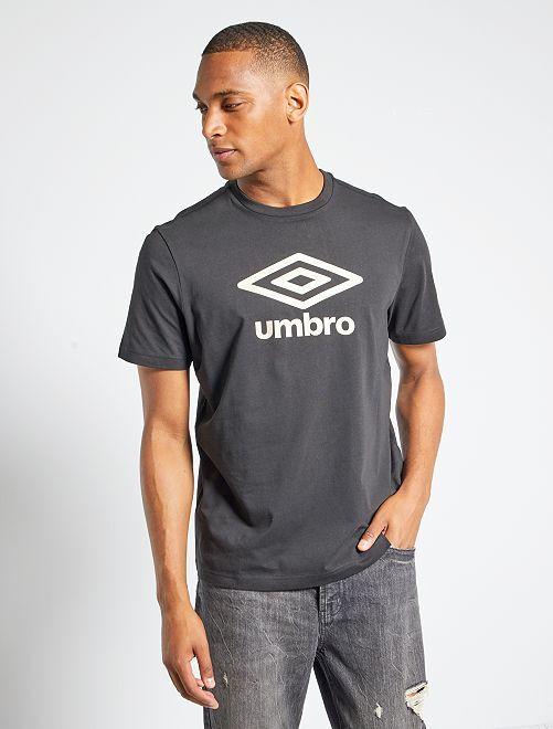 T-shirt 'Umbro'                                         noir/doré
