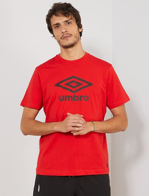 T-shirt 'Umbro'                                                                             rouge Homme