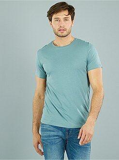 T-shirt uni pur coton