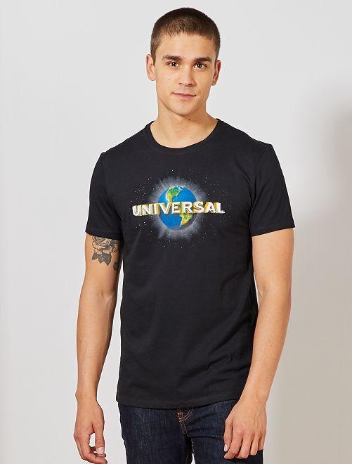 T-shirt 'Universal'                             noir