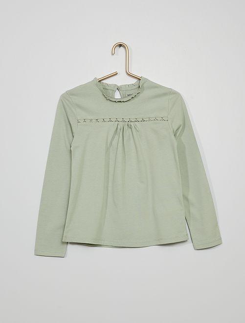 T-shirt                                                                 vert cendré