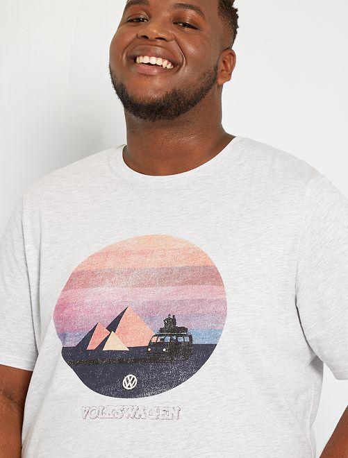 T-shirt 'Volkswagen'                             gris