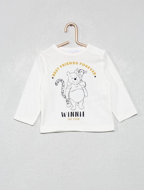 T-shirt 'Winnie l'ourson'                                         blanc cassé