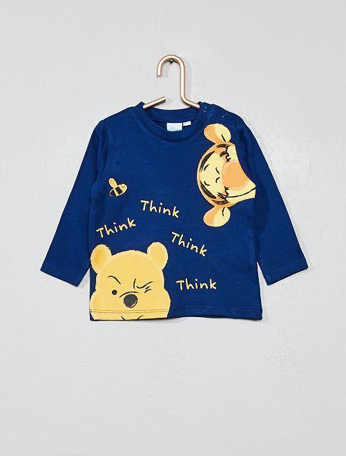 T-shirt 'Winnie l'ourson'                             bleu marine