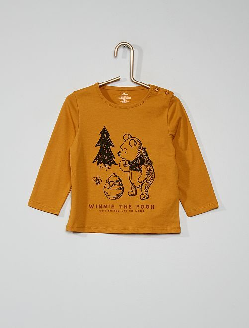 T-shirt 'Winnie l'Ourson'                                         jaune