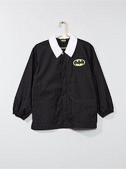 Cartable, tablier d'école - Tablier court en popeline 'Batman' - Kiabi