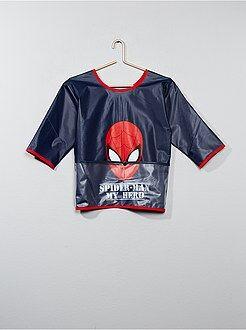 Cartable, tablier d'école - Tablier en plastique 'Spiderman' - Kiabi
