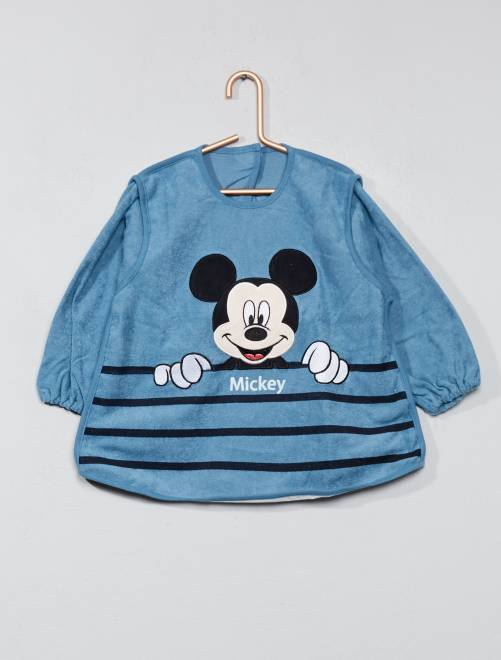 Tablier 'Mickey' en éponge                                         Mickey Bébé garçon