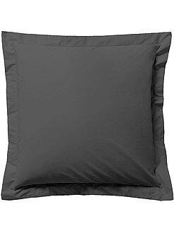 taie oreiller Taie d'oreiller Linge de maison | gris | Kiabi taie oreiller