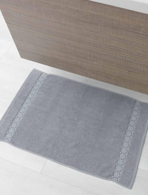 Tapis de bain 50 x 85 cm                             gris