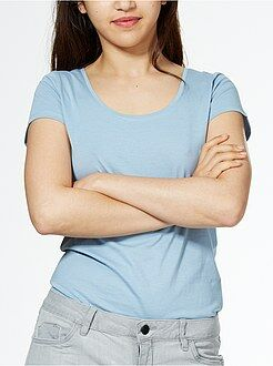 Femme du 34 au 52 Tee-shirt à manches courtes