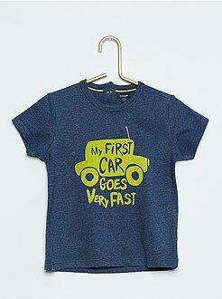 Garçon 0-36 mois Tee-shirt à manches courtes imprimé 'Voiture'