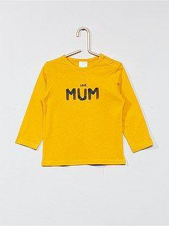 Garçon 0-36 mois - Tee-shirt basique avec imprimé - Kiabi