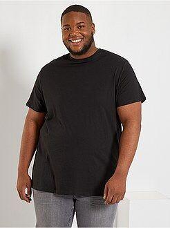 Tee-shirt comfort en jersey - Kiabi