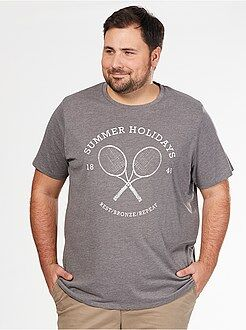T-shirt imprimé - Tee-shirt comfort jersey imprimé sport