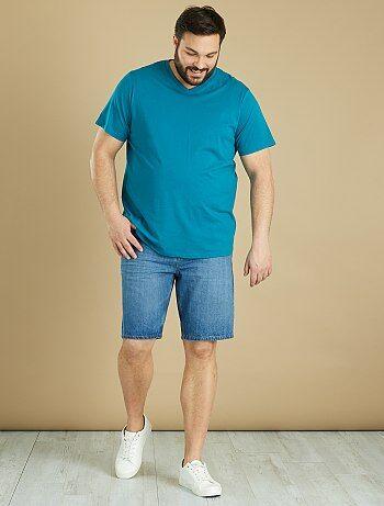 Soldes t-shirt grande taille homme, mode Grande taille homme   Kiabi 1af4d859cb00