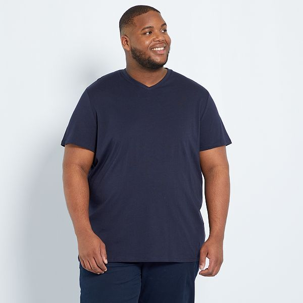 t-shirt homme grande taille