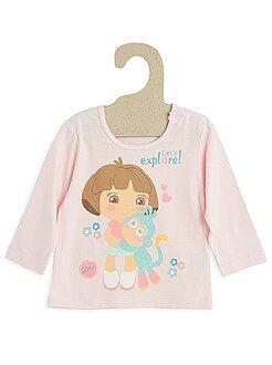 Garçon 0-36 mois Tee-shirt coton 'Dora'
