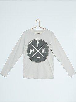 Garçon 10-18 ans Tee-shirt coton imprimé