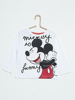 Tee shirt, polo - Tee-shirt coton 'Mickey'