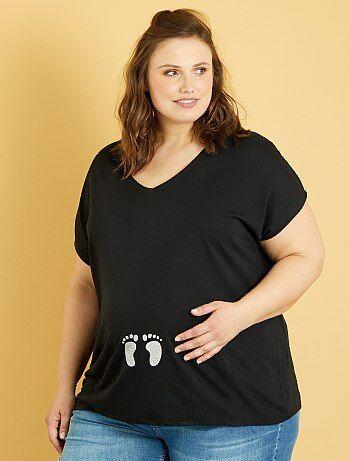 Tee-shirt de maternité - Kiabi