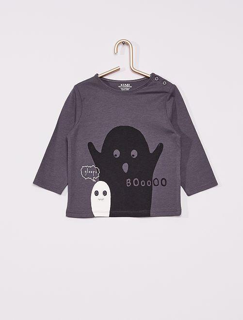 Tee-shirt éco-conçu                                                                                                                                                                 gris