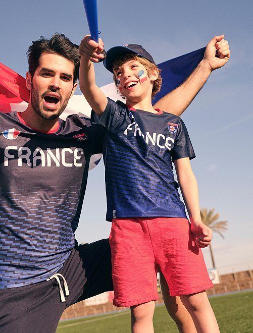 Tee-shirt 'Euro 2020'                                                                 bleu France