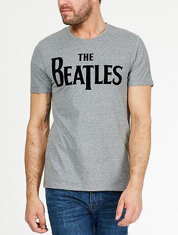 Tee-shirt floqué 'The Beatles'