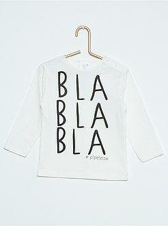 T-shirt - Tee-shirt imprimé à manches longues