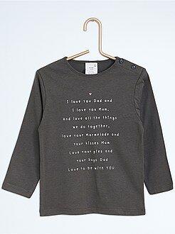 Fille 0-36 mois Tee-shirt imprimé à manches longues