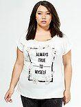 Tee-shirt imprimé feutrine