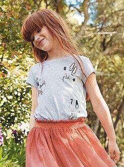 Tee-shirt imprimé girly
