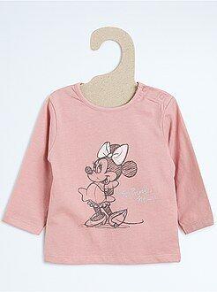 Fille 0-24 mois Tee-shirt imprimé 'Minnie'