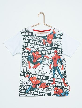 Tee shirt imprimé `Spider Man`