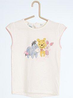 Fille 0-36 mois Tee-shirt imprimé 'Winnie l'Ourson'