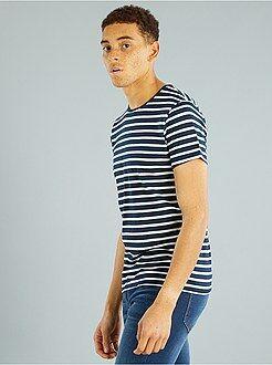 T-shirt - Tee-shirt jersey rayé