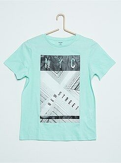 Tee shirt, polo - Tee-shirt manches courtes imprimé