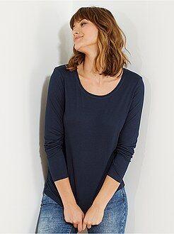 T-shirt, débardeur taille xl - Tee-shirt manches longues