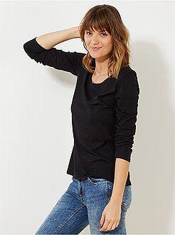 Femme du 34 au 48 Tee-shirt manches longues